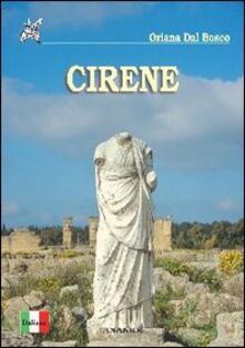 Cirene - Oriana Dal Bosco - copertina