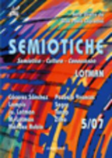 Semiotiche (2007). Vol. 5 - copertina