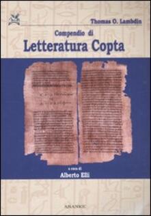 Festivalshakespeare.it Compendio di letteratura copta. Con testo copto Image