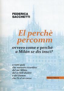 El perché percomm ovvero come e perché a Milán se dis inscì?