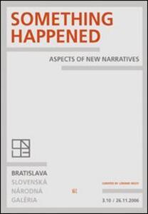 Something happened. Ediz. italiana e inglese - copertina