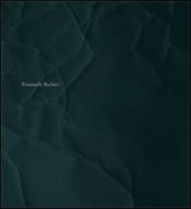 Emanuele Becheri. Ediz. italiana e inglese - copertina