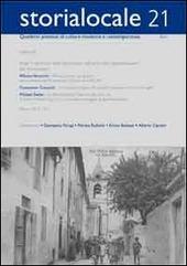 Storialocale. 21 quaderni pistoiesi di cultura moderna e contemporanea