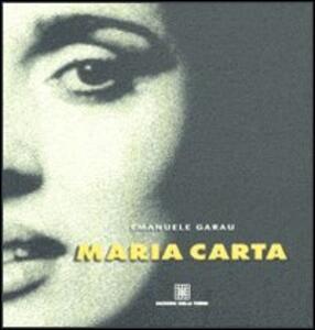 Maria Carta - Emanuele Garau - copertina