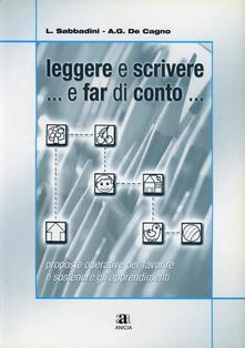 Aboutschuster.de Leggere e scrivere... e far di conto... Con CD-ROM Image