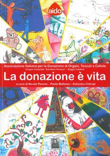 Letterarioprimopiano.it La donazione è vita. Associazione italiana per la donazione di organi, tessuti e cellule Image