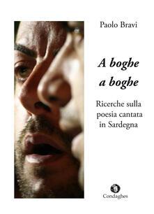Milanospringparade.it A boghe a boghe. Ricerche sulla poesia cantata in Sardegna Image