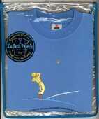 Idee regalo T-Shirt Piccolo Principe a maniche corte, bambino, taglia XXS. Azzurro. Stella Magazzini Salani