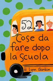Voluntariadobaleares2014.es 52 cose da fare dopo la scuola. Carte Image