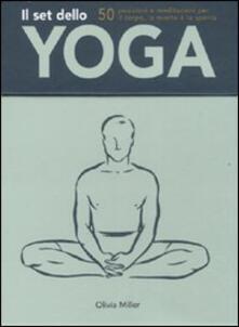 Squillogame.it Il set dello yoga. Con 50 carte Image