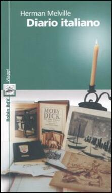 Diario italiano - Herman Melville - copertina