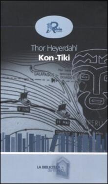 Kon-Tiki - Thor Heyerdahl - copertina