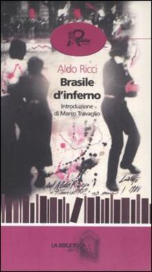 Brasile d'inferno - Aldo Ricci - copertina