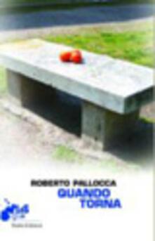 Quando torna - Roberto Pallocca - copertina