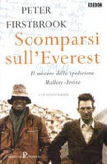 Scomparsi sull'Everest - Peter Firstbrook - copertina