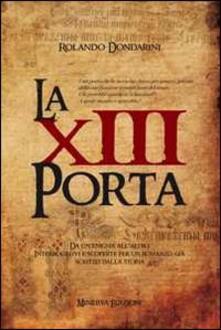 La XIII porta - Rolando Dondarini - copertina