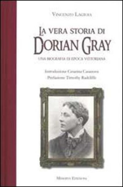 La vera storia di Dorian Gray - Vincenzo Lagioia - copertina