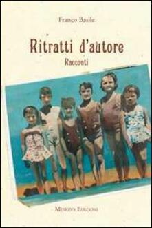 Ritratti d'autore - Franco Basile - copertina