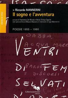 Il sogno e l'avventura - Riccardo Mannerini - copertina