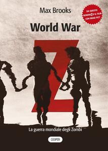 World war Z. La guerra mondiale degli zombi - Max Brooks - copertina