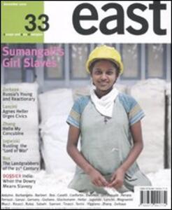 East. Ediz. inglese. Vol. 33