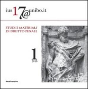 Ius17@unibo.it (2010). Vol. 1