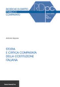 Storia e critica comparata della Costituzione italiana