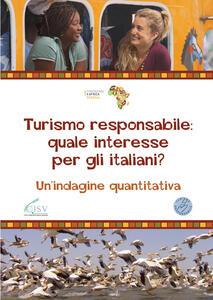 Turismo responsabile: quale interesse per gli italiani? Un'indagine quantitativa