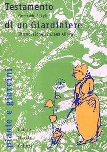 Mercatinidinataletorino.it Testamento di un giardiniere Image