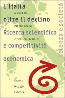 Antondemarirreguera.es L' Italia oltre il declino. Ricerca scientifica e competitività economica Image