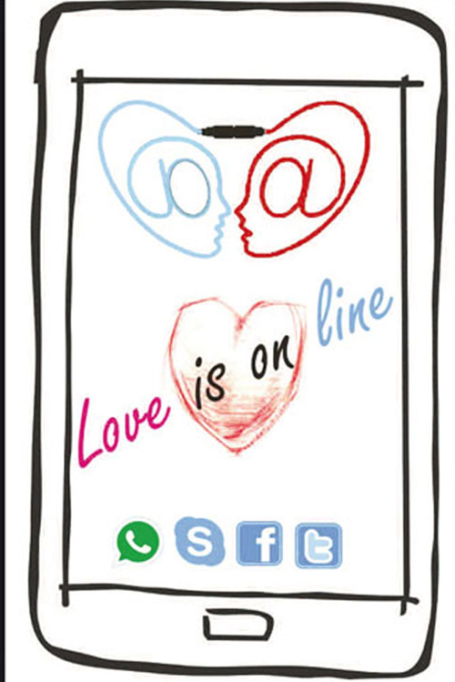 Love is on line
