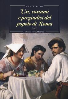 Listadelpopolo.it Usi, costumi e pregiudizi del popolo di Roma Image