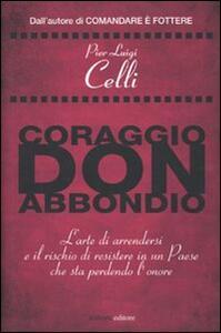 Coraggio, don Abbondio