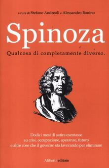 Spinoza. Qualcosa di completamente diverso - copertina