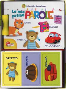 Associazionelabirinto.it Le mie prime parole. Carotina. Libri gioco e imparo. Ediz. a colori. Con gadget Image