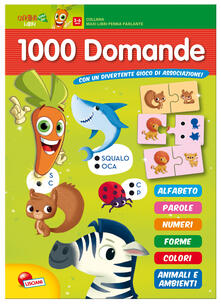 Daddyswing.es 1000 domande. Libro maxi carotina penna parlante. Con gadget Image