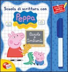 Premioquesti.it Parole e ambienti. Scuola di scrittura con Peppa Pig. Con gadget Image