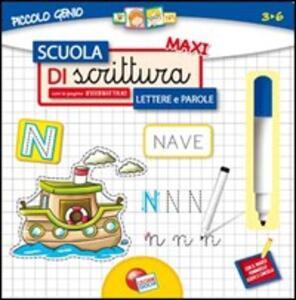 Scuola di scrittura maxi lettere e parole