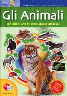 Rallydeicolliscaligeri.it Animali. Quaderni per sapere di più. Con adesivi Image