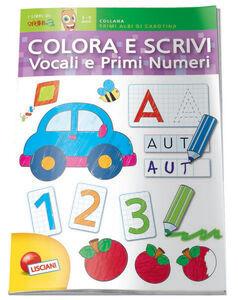 Giocattolo Album da Colorare Vocali&Numeri Lisciani