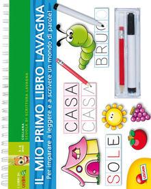 Voluntariadobaleares2014.es Lettere e parole. Libro lavagna. Con gadget Image