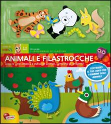 Vitalitart.it Animali e filastrocche. Con adesivi Image