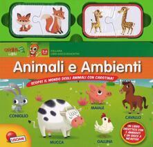 Parcoarenas.it Animali e ambienti. Scopri il mondo degli animali con carotina Image