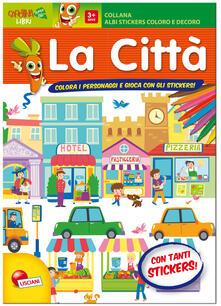 Ilmeglio-delweb.it Forme e sagome di città. Albo stickers. Con adesivi. Ediz. illustrata Image