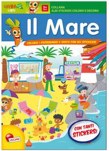 Criticalwinenotav.it Forme e sagome del mare. Albo stickers. Con adesivi. Ediz. illustrata Image