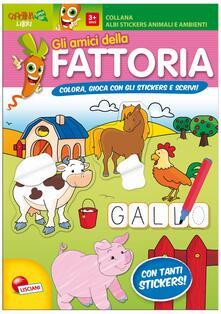 Gli animali della fattoria. Con adesivi. Ediz. illustrata.pdf