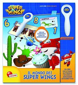 Il Mondo dei Super Wings Libro con penna elettronica - 2