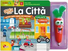 Lpgcsostenible.es La città. Libro penna parlante carotina. Con gadget Image