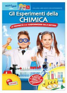 Daddyswing.es Gli esperimenti della chimica. Libro gioco con esperimento. Con gadget Image