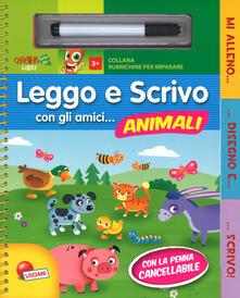 Antondemarirreguera.es Leggo e scrivo con gli amici... animali. Ediz. a colori. Ediz. a spirale. Con gadget Image
